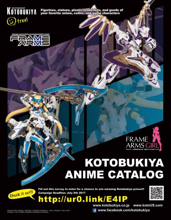 Anime Expo 2017 : le catalogue Kotobukiya