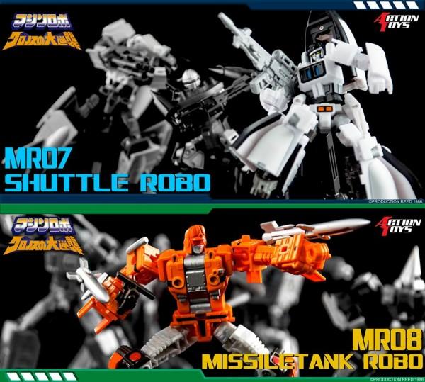 MR07 Shuttle Robo