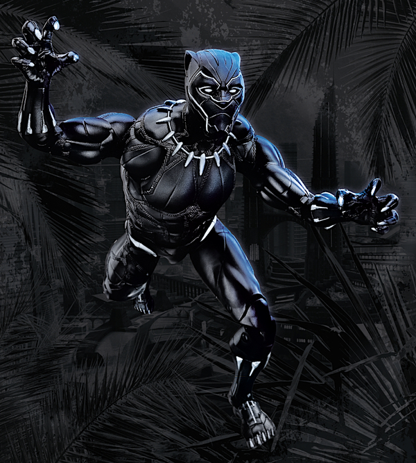 Black Panther - Marvel Movie Hasbro