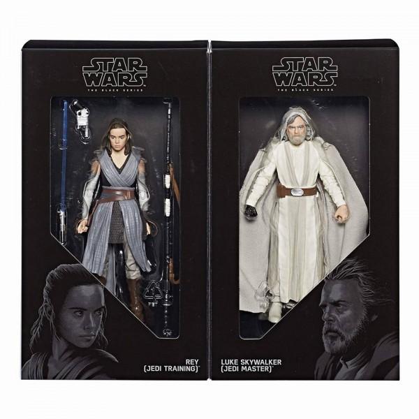 Star Wars The Last Jedi : Luke et Rey Black Series 6