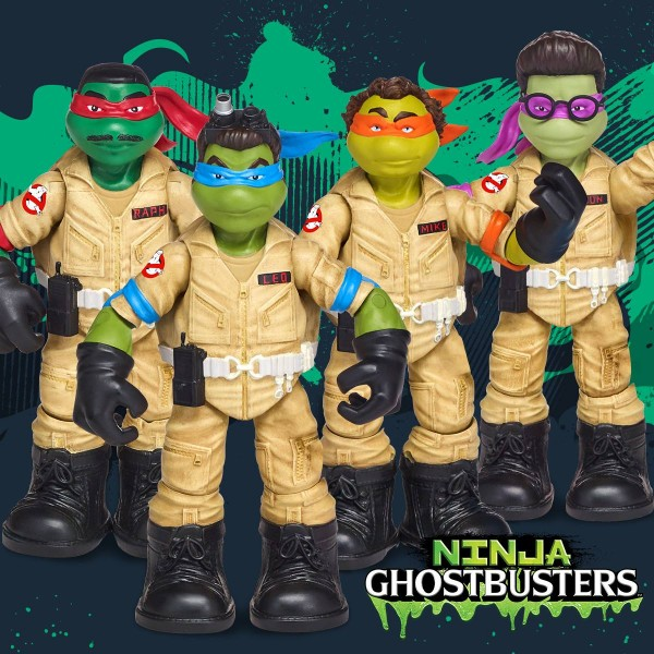 Teenage Mutant Ninja Turtles  GHOSTBUSTERS tortues ninja