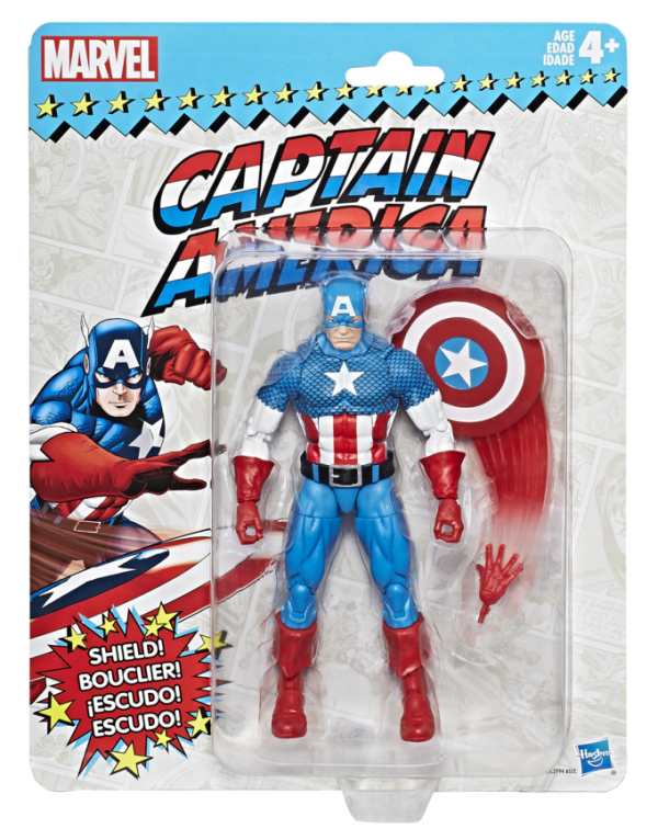 Marvel-Vintage-Legends-Series-6-inch-Captain-America