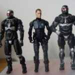 Crysis 2 : figurines de Nomad et Alcatraz (nanosuit)