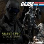 Snake Eyes et Timber chez Sideshow