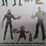 Guardians of the Galaxy : nouveaux packs Super Hero Team