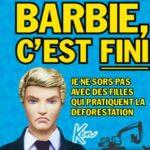 Ken largue Barbie ! ou comment l'industrie du jouet participe à la déforestation