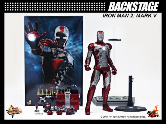 Mark V Limited Edition Collectible Iron Man 2