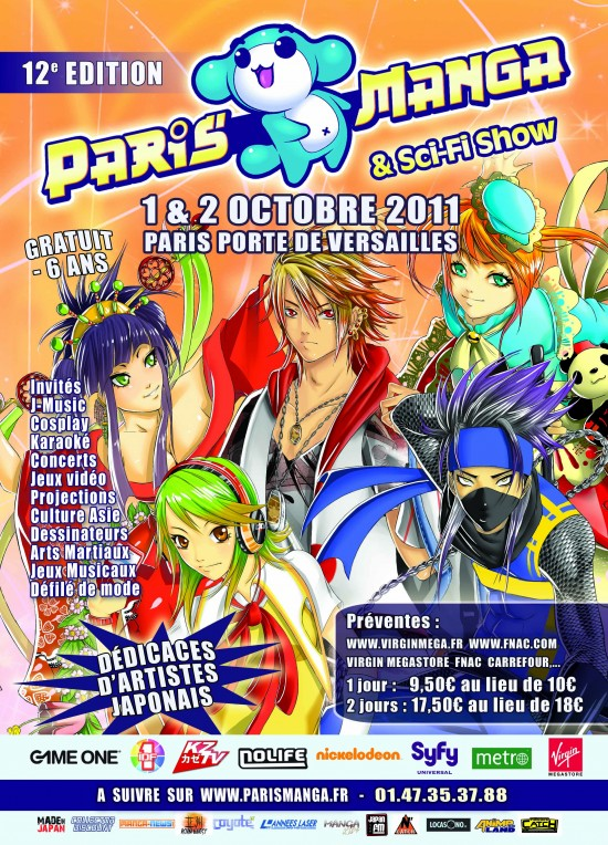 PARIS MANGA & SCI-FI SHOW 12eme édition