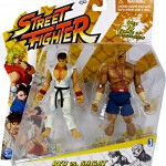 Nouvelles figurines Street Fighter