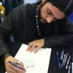 Renato Guedes, le dessinateur de Wolverine au Paris Manga & Sci-Fi Show