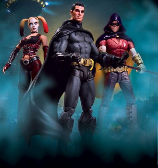 Batman Arkham City Series 1 Action Figures