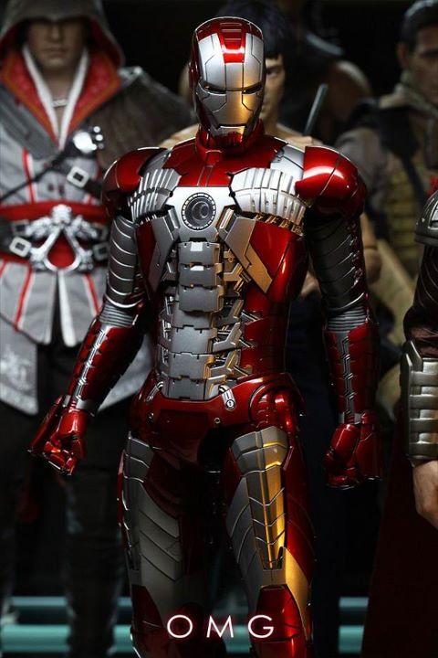 hot toys iron man mark V