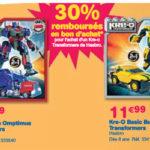 Toys R Us les promo de la rentrée