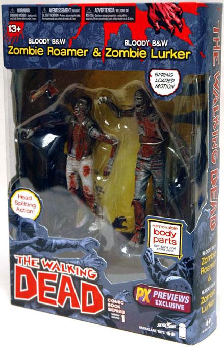 the walking dead zombie double packs