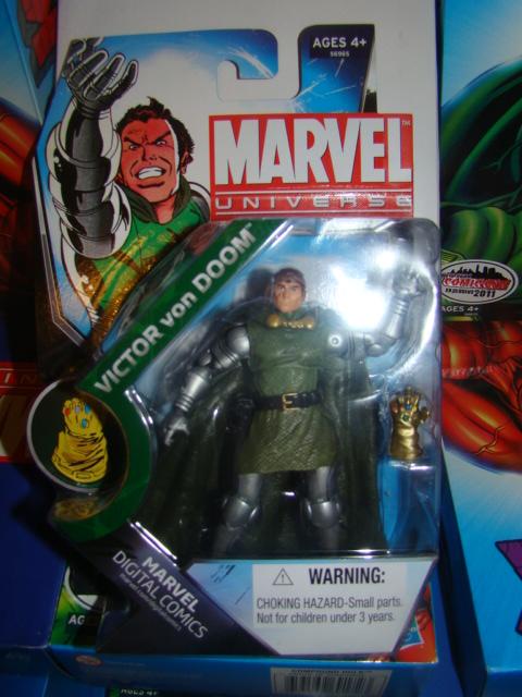 marvel universe DR DOOM EXCLU MARVEL HASBRO