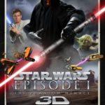 La Menace Fantôme en 3D : le poster