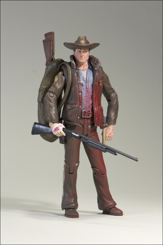 NYCC Exclusive The Walking Dead Comic Officer Rick Grimes Bloody Version 01