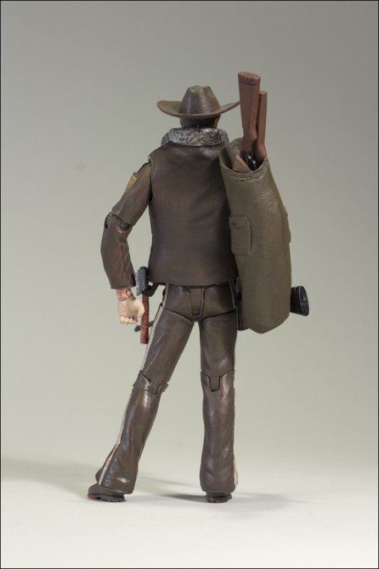 NYCC Exclusive The Walking Dead Comic Officer Rick Grimes Bloody Version