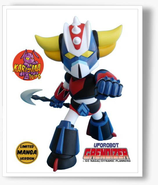Grendizer Baby SD Limited Edition Manga Version
