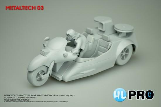 metaltech 03 model, die cast Duke Fleed's buggy