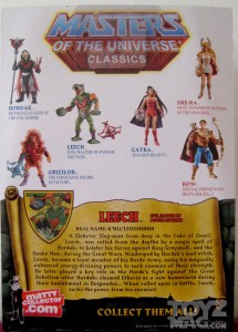 masters of the universe Leech