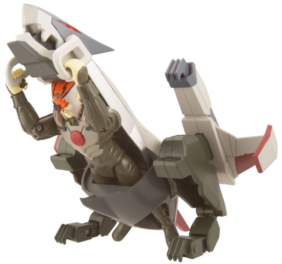 """Tiger Flyer with 4"""" Tygus figure"""
