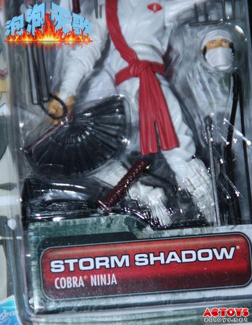 Storm Shadow GI Joe 30th Anniversary Wave 3