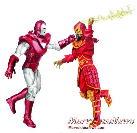 Comic pack Marvel universe hasbro 2012