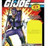 Cobra Ninja Commando Cobra'Dice la carte