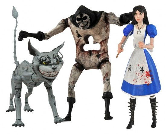 Alice Madness Returns Select Figures  Series 1 2012