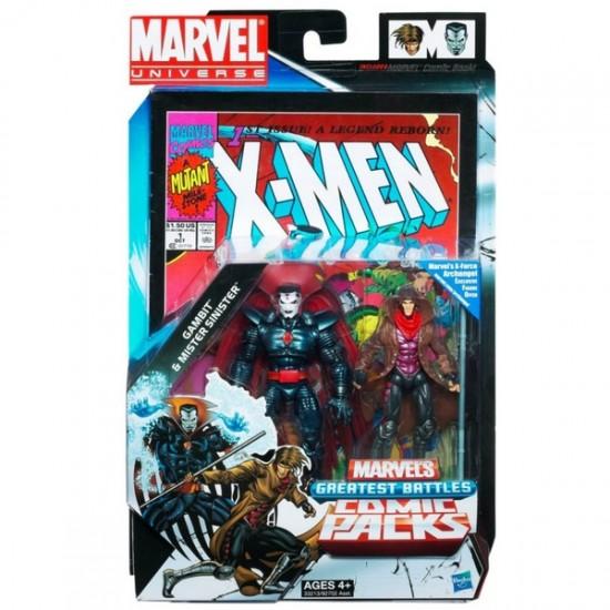 Marvel universe Hasbro pack Mister Sinister Gambit