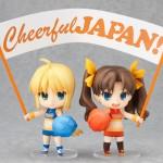 Nendoroid Saber et Rin Tohsaka Cheerful version par GSC
