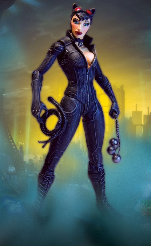 batman arkham city DC direct serie 2 catwoman
