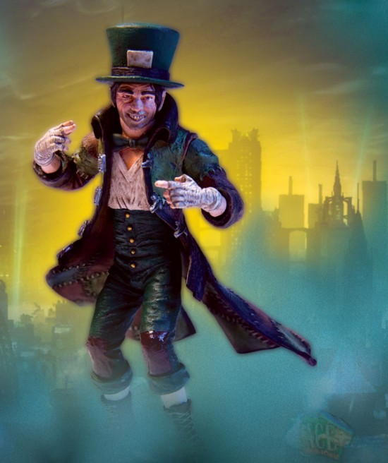 batman arkham city DC direct serie 2   mad hatter
