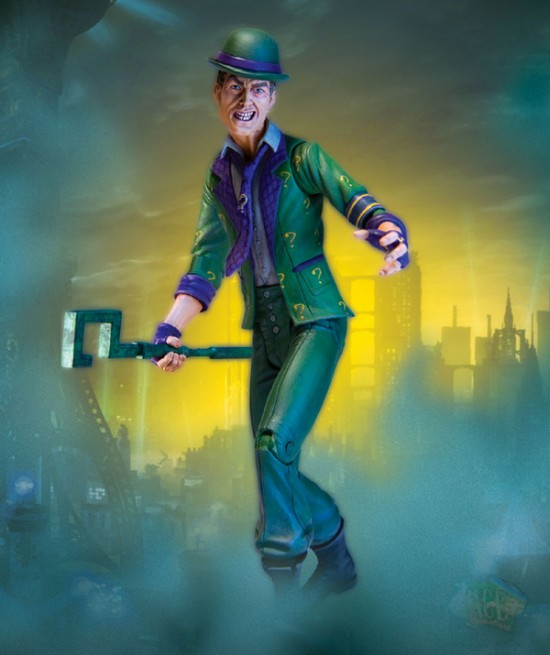 batman arkham city DC direct serie 2  riddler