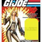 Gi Joe la carte de Cover Girl