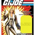 Gi Joe la carte de Cover Girl