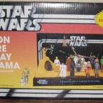 Star Wars Action Figure Display Diorama Le revival du vintage