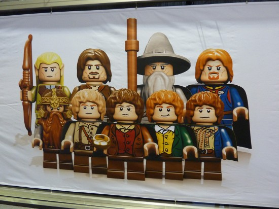 london toy fair LEGO lord of the rings