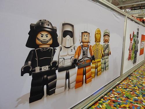 LONDON TOY FAIR LEGO  STAR WARS