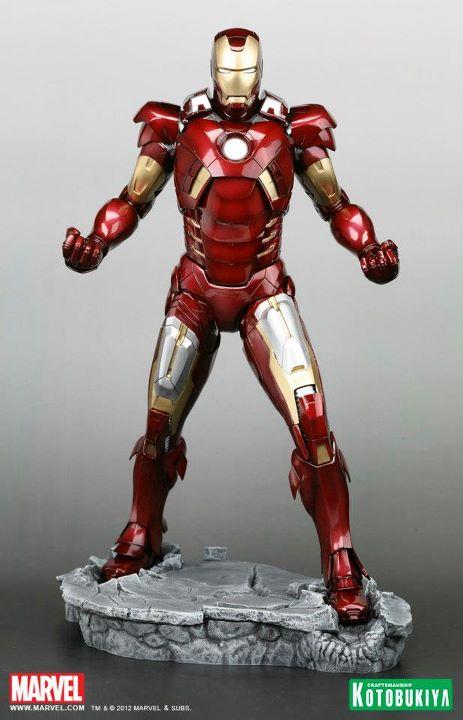 The Avengers Movie Iron Man Mark VII ARTFX Statue kotobukiya