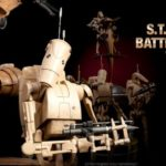 "Star Wars 12"" : TPM Battle Droid & STAP"