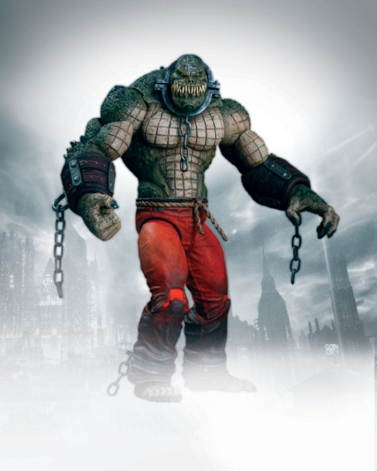 Batman Arkham City Deluxe Killer Croc