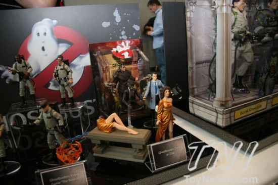 Ghostbusters Mattel New york toy fair 2012