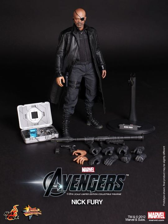 The Avengers Nick Fury Limited Edition Collectible Figurine hot toy ja