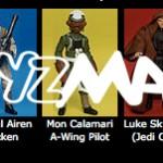 Star Wars : liste des figurines pour 2012