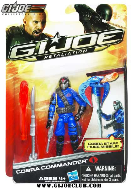 G.I.Joe Retaliation cobra commander