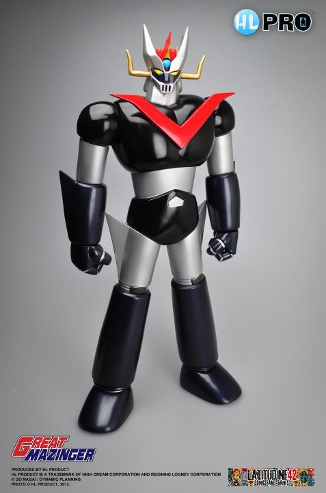 Great Mazinger Marmit model, exclusive reproduction for 'Latitudine 42'.