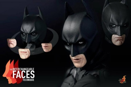 HOT TOYS visages nouvelle technologie The interchangeable faces technique