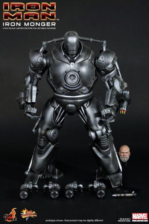 IRON MAN 1 IRON MONGER